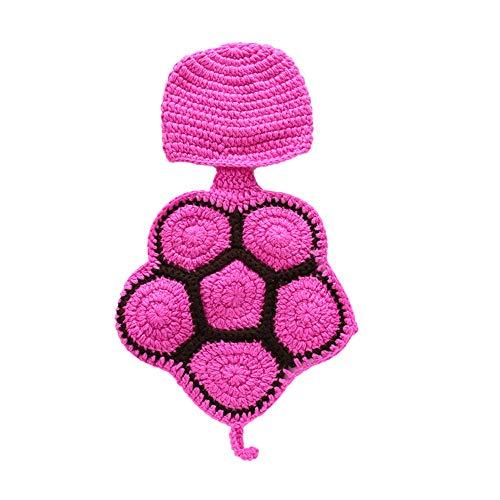 equisiten Outfit Fotoaufnahme Prop Neugeborenes Baby Fotografie Requisiten Mädchen Junge niedlichen Schildkröte Kostüm Outfits Stricken Schildkröte Shell Fotoaufnahme Prop Zubehör ()