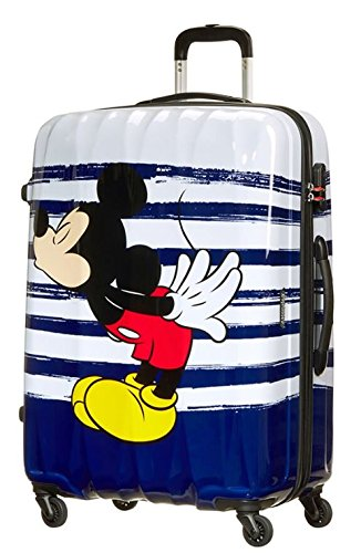 Trolley Rigido 75 cm 4 Ruote Spinner | American Tourister Disney Legends | 19C008-Mickey Kiss
