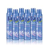 Fa - Desodorante Spray Blue Romance - 200ml (pack 6) Total: 1200ml