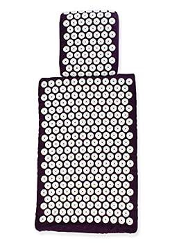 White Lotus Anti Aging L?oreiller et tapis d?acupression Euro Lotus Blanc ?Gagnant de la 1re place des meilleurs tapis d'acupression sur Vergleich.org 2016- Le premier tapis d?acupression ? Les seuls oreillers et tapis fabriqués en Europe selon les normes UE avec mousse à mémoire de forme, sans colle ni teintures allergéniques. CONÇUS PAR DES ACUPUNCTEURS EN EXERCICE