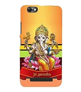 Vinayaka Chaturthi 3D Hard Polycarbonate Designer Back Case Cover for Lenovo A2020