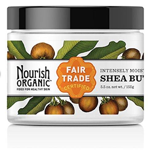 Nourish Organic Raw Shea Butter Intensive Moisturizer 5.5 oz by Nourish