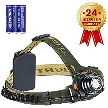USB Rechargeable Sensor LED Headlamp Headlight Head Torch Light Waterproof Lamp