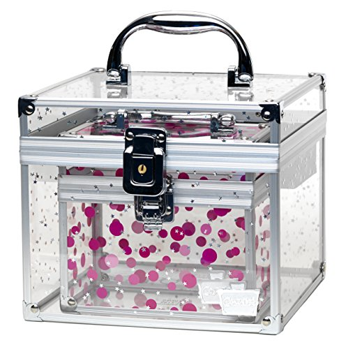caboodles-prima-donna-medium-case-with-holographic-stars-and-pink-dots-bonus-case-by-caboodles