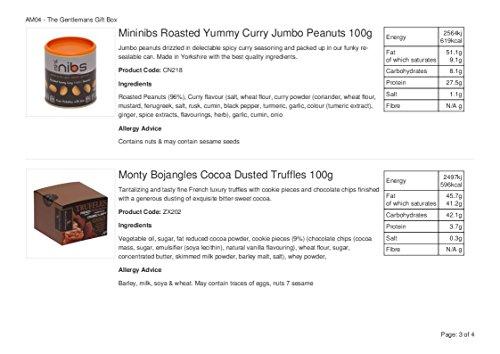 La cesta selecta de comida gourmet: una cesta de regalo con queso y vino adecuada para él o para ella - 3