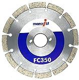 Marcrist - Diamanttrennscheibe - Diamantscheibe - 150mm - FC350 für Bepo FFS 150 FFS 151- Diamant Sägeblatt für Montagefräsen