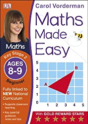 Maths Made Easy Ages 8-9 Key Stage 2 Beginner (Carol Vorderman's Maths Made Easy)