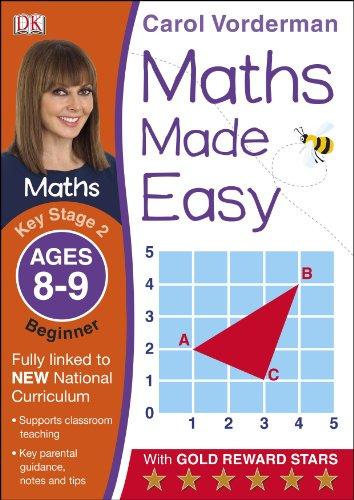 Maths Made Easy Ages 8-9 Key Stage 2 Beginner (Carol Vorderman's Maths Made Easy) por Carol Vorderman