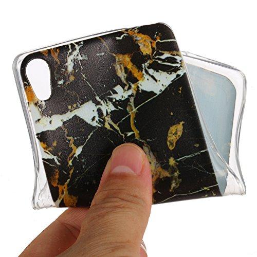 ARTLU® Belle impression Coque Pour Sony Xperia XA1 Ultra 6,0 pouces Silicone Étui Housse Protecteur souple TPU Gel transparent Back Case-A06 A1