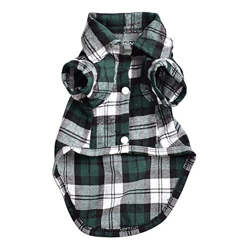 good01-susse-haustier-hund-puppy-plaid-shirt-coat-clothes-apparel-t-shirt-top-grosse-xs-s-m-l