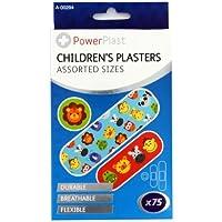 75Fun Kinder Pflaster Band Aids steril atmungsaktiv Designs, verschiedene Größen Shopmonk preisvergleich bei billige-tabletten.eu