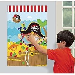Juego para fiestas temáticas de piratas.