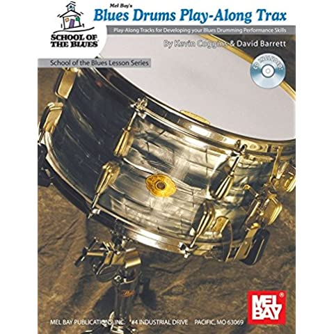 Blues Drums Play-Along Trax. For