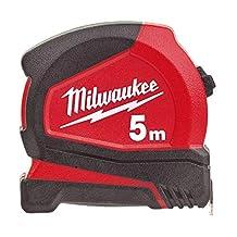 Milwaukee 4932459593 932459593 Pro Compact Tape Meet 5m (Breedte 25mm) (Alleen metrisch)