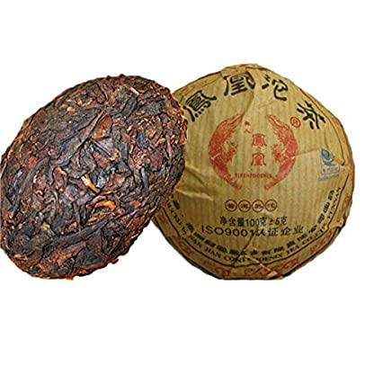 100g-022LB-Reifer-Tuocha-Premium-Yunnan-puer-Tee-alter-Teebaum-Materialien-Puer-Tee-Schwarzer-Tee-Chinesischer-Tee-Pu-er-Tee-Reifer-Tee-Puerh-Tee-Pu-erh-Tee-Pu-erh-Tee-gekochter-Tee-Roter-Tee