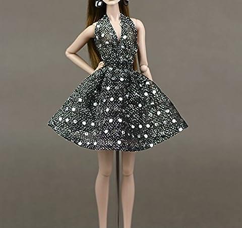 UK-36B Mode magnifique robe de soirée à la main pour