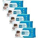 Mee Mee Baby Gentle Wet Wipes ((72 Pcs,Pack of 05), Lemon Gentle Multipurpose)