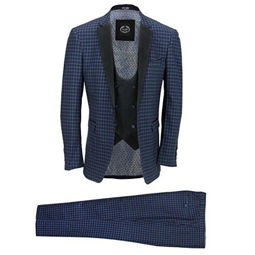 Xposed -  abito - uomo blu mare 58