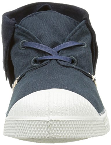 Bensimon - Nils Indian Fringes, Sneaker Donna Blu (Bleu (516 Marine))