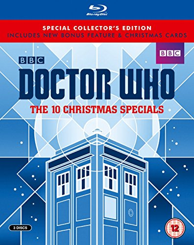 Doctor Who - The 10 Christmas Specials (Limited Edition) [Blu-ray] [Import anglais]