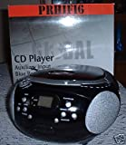 Global CD Player with AM/FM Radio Boombox style Model: CD95 from Global