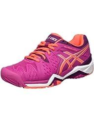 Asics Gel-Resolution 6 W, Chaussures de Tennis Femme