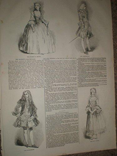 ueen Victoria Georgian Kostüm Ball (Queen Victoria Kostüme)