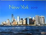 New York 2019: Großformat-Kalender 58 x 45,5 cm