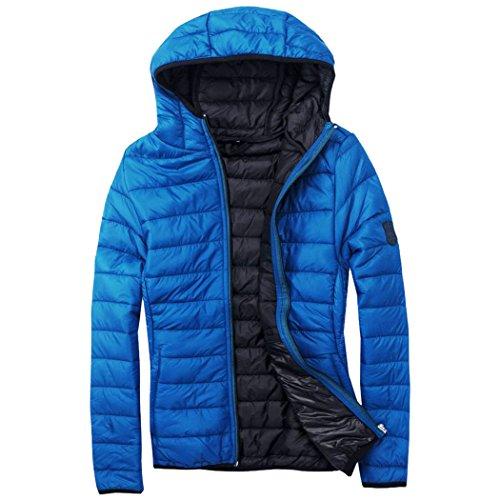 EXUMA peut également gonflé veste pour femme S, M, L ou XL Bleu - Bleu roi