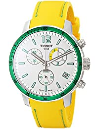 TISSOT - Montre Homme Tissot Quickster T0954491703701 Bracelet Silicone Jaune - T0954491703701