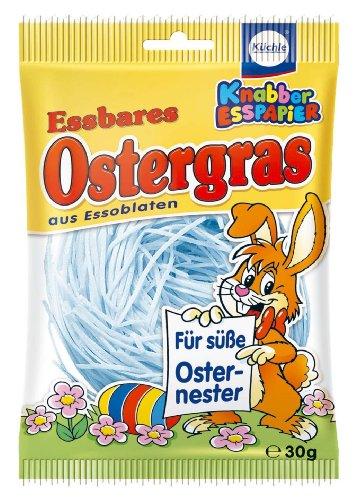 Küchle - essbares Ostergras blau - 30g -