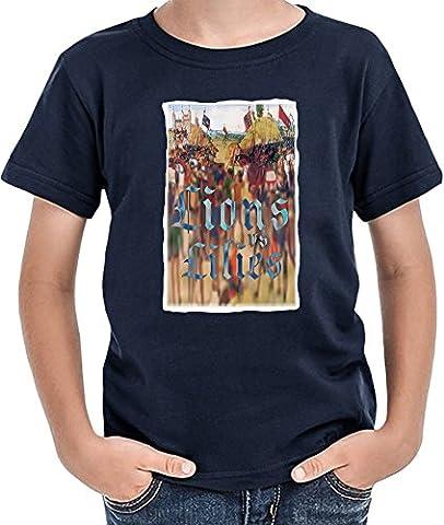 Lions and lilies T-shirt garçon 12+ yrs