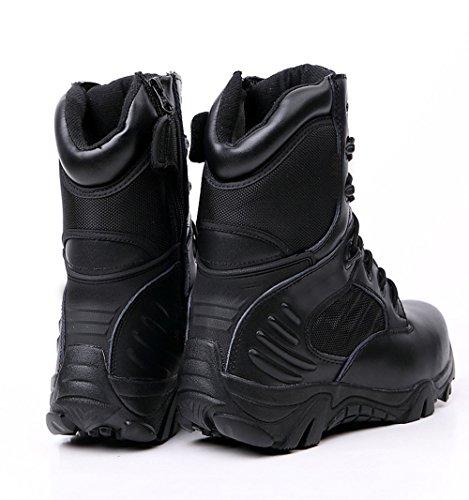 CHT Printemps En Plein Air Et De Randonnée Chaussures Automne Et En Hiver Hommes Desert Boots Taille Noir Marron En Option Black
