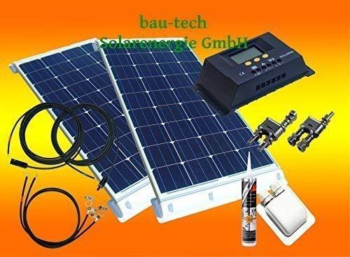 200Watt WoMo Solaranlage Komplettpaket für Wohnmobile, Boote, Camping u.v.m.