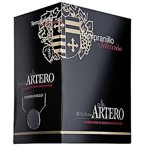 Rotwein Spanien Bag in Box Tempranillo Artero 5,0 Liter - VERSANDKOSTENFREI -
