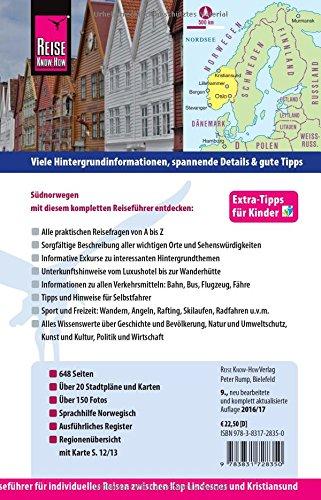 Reise Know-How Südnorwegen: Reiseführer für individuelles Entdecken: Alle Infos bei Amazon