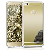 kwmobile Huawei P8 Lite (2017) Hülle - Handyhülle für Huawei P8 Lite (2017) - Handy Case in Gold spiegelnd