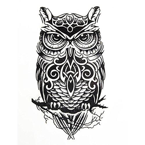 generique-1-pc-tatouage-temporaire-sticker-corps-impermeable-hibou