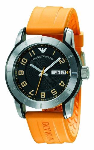 Emporio Armani AR5872 Mens Sports All Yellow Watch