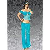 Traje de princesa jazmín estilo árabe belleza M (UK 10-12)