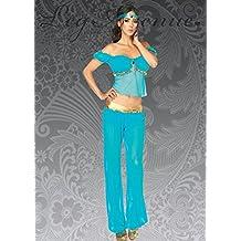 Traje de princesa jazmín estilo árabe belleza L (UK 12-14)