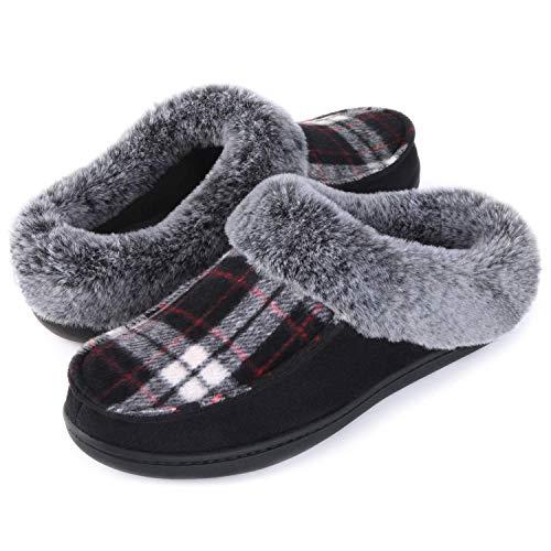 46209d4bfc6 ULTRAIDEAS Women s Wool-Like Blend Polar Fleece Slip-on Indoor-Outdoor  House Clog