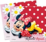 Amscan Disney Minnie Daisies Lunch Napkins