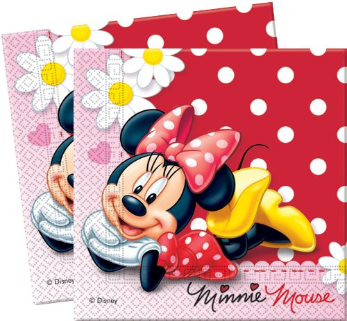 Serviettes Minnie© Disney x20 - Taille Unique