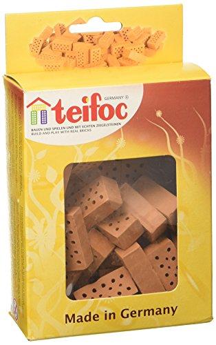 Unbekannt Eichsfelder Technik eitech Gmb TEI906601 - Teifoc Backstein, Konstruktionsspielzeug, rot