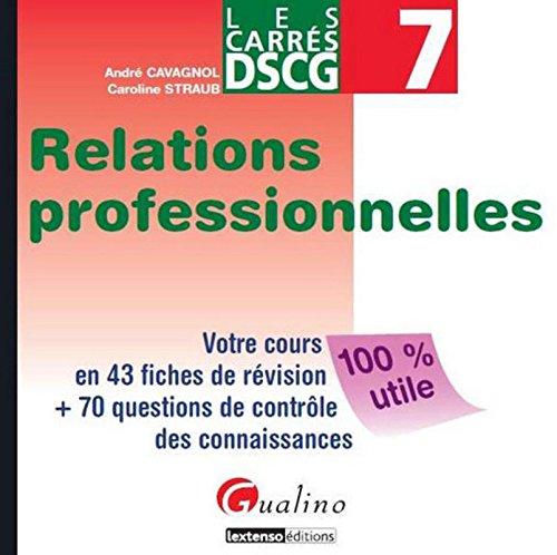 Relations professionnelles DSCG 7