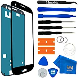 MMOBIEL Écran Tactile Compatible avec Samsung Galaxy S3 Mini i8190 i8195 Series (Noir) avec Kit d'Outils Complet
