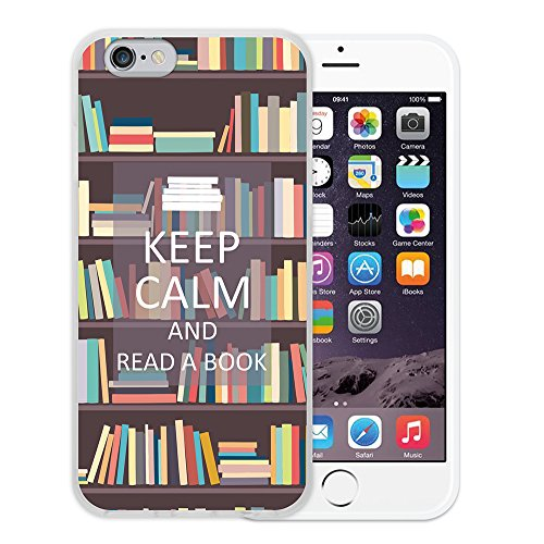 iPhone 6 6S Hülle, WoowCase Handyhülle Silikon für [ iPhone 6 6S ] Herz Liebe Satz - I Love You To The Moon And Back Handytasche Handy Cover Case Schutzhülle Flexible TPU - Schwarz Housse Gel iPhone 6 6S Transparent D0292