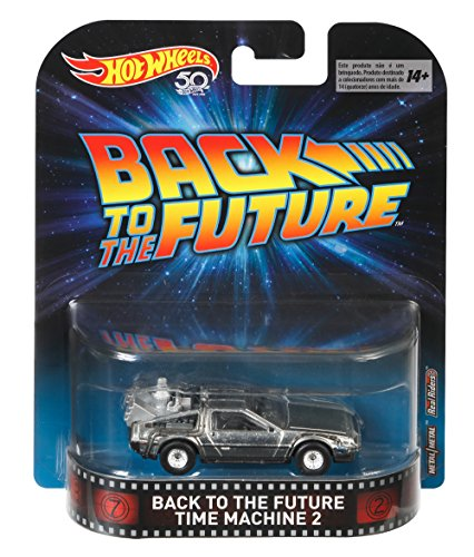 Modelo del Coche Delorean Time Machine 2 DE Regreso AL Futuro 2 - Escala 1:64 FLD 13