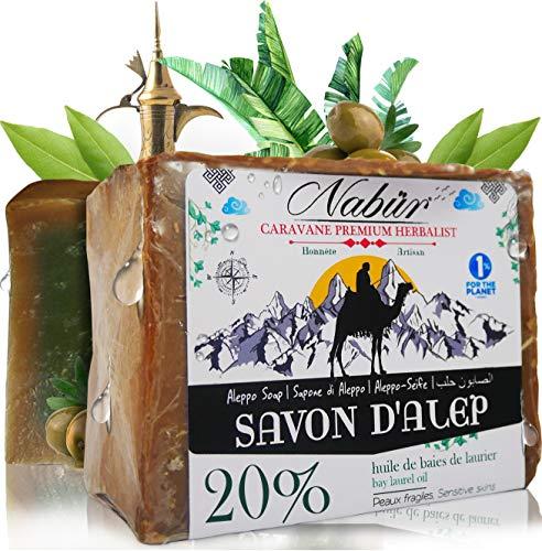 Nabür - Jabón Alepo ⭐ 20% Aceite Laurel + 80%
